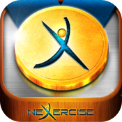 Nexercise the social fitness & workout GPS tracker for weight loss motivation