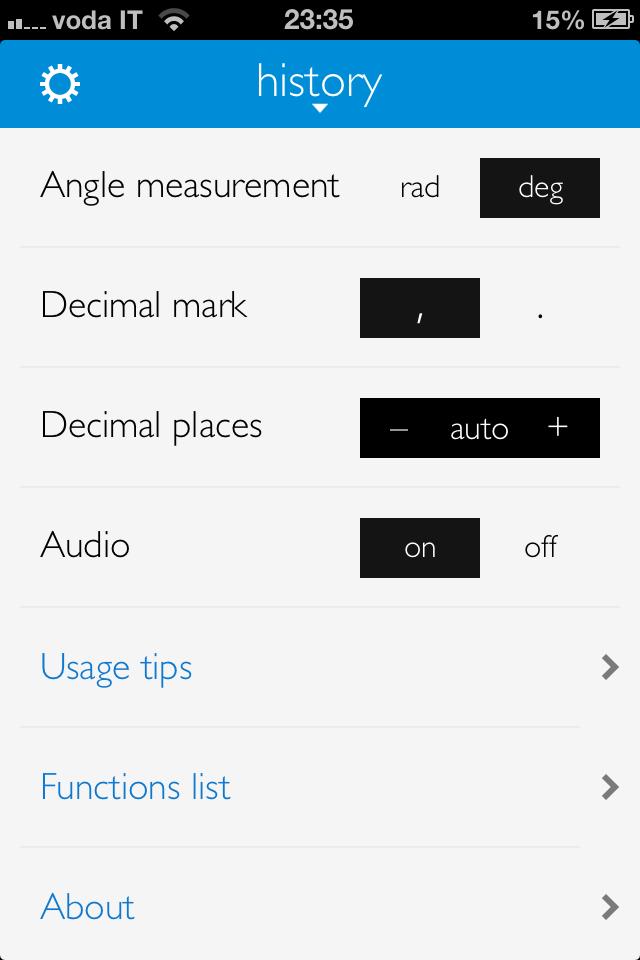 Calc 2M – Scientific calculator Screenshot