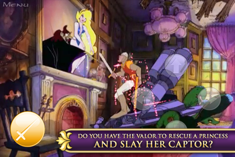 Dragon's Lair 2: Time Warp screenshot 5