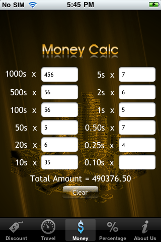iCalculators Screenshot