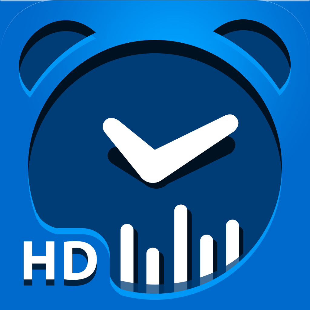 Smart Alarm Clock for iPad: sleep cycles and noise recording