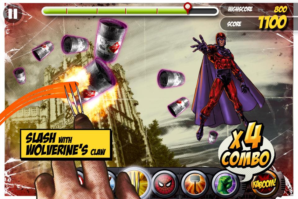 Marvel KAPOW! screenshot 1