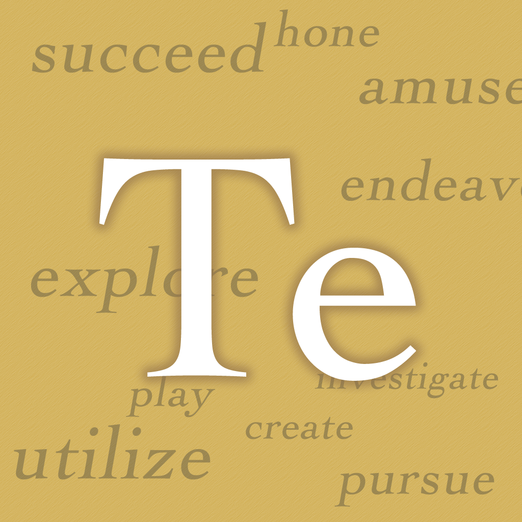 Terminology for iPad Review