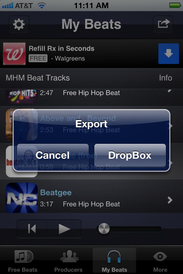 app shopper free rap beats music downloads music. Black Bedroom Furniture Sets. Home Design Ideas