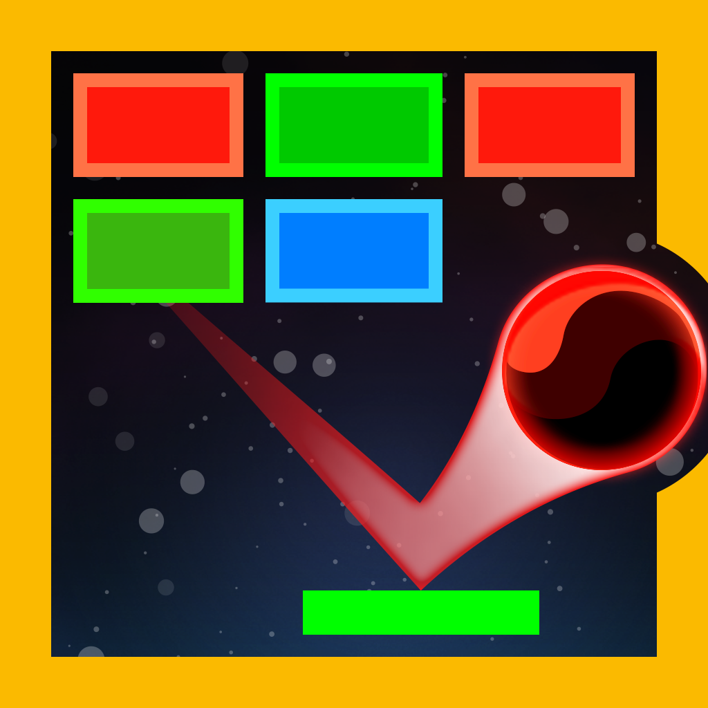 Space Bricks Breaker