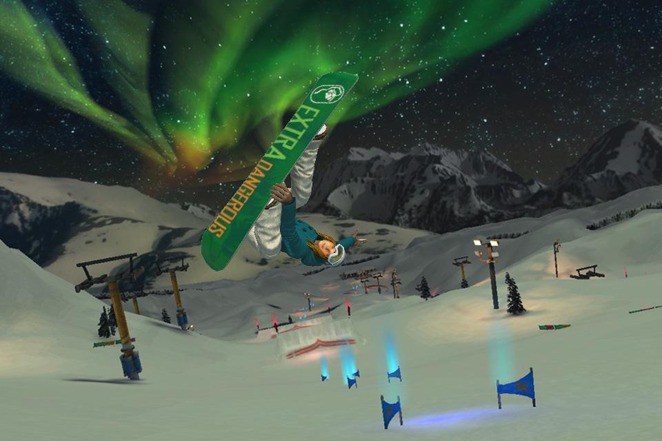 SummitX Snowboarding HD screenshot 5