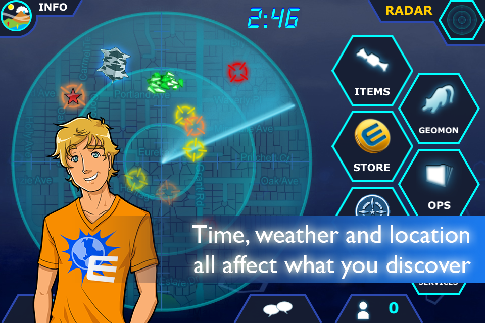 Geomon screenshot 3
