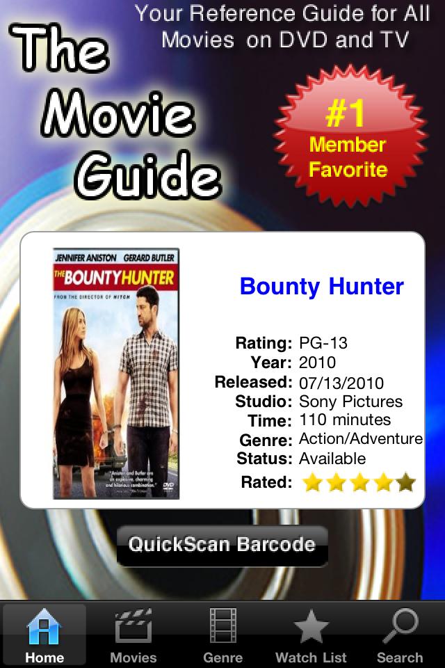 The Movie Guide - Pro screenshot #1