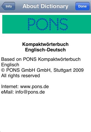 übersetzung deutsch englisch pons