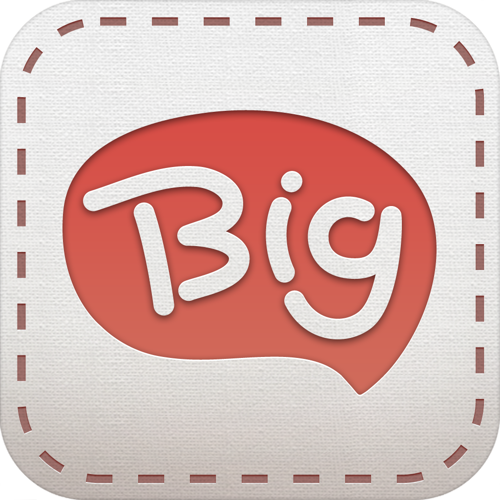 Bigture for iPhone