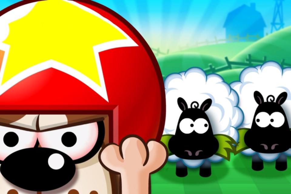 Sticky Sheep™ Lite screenshot 1