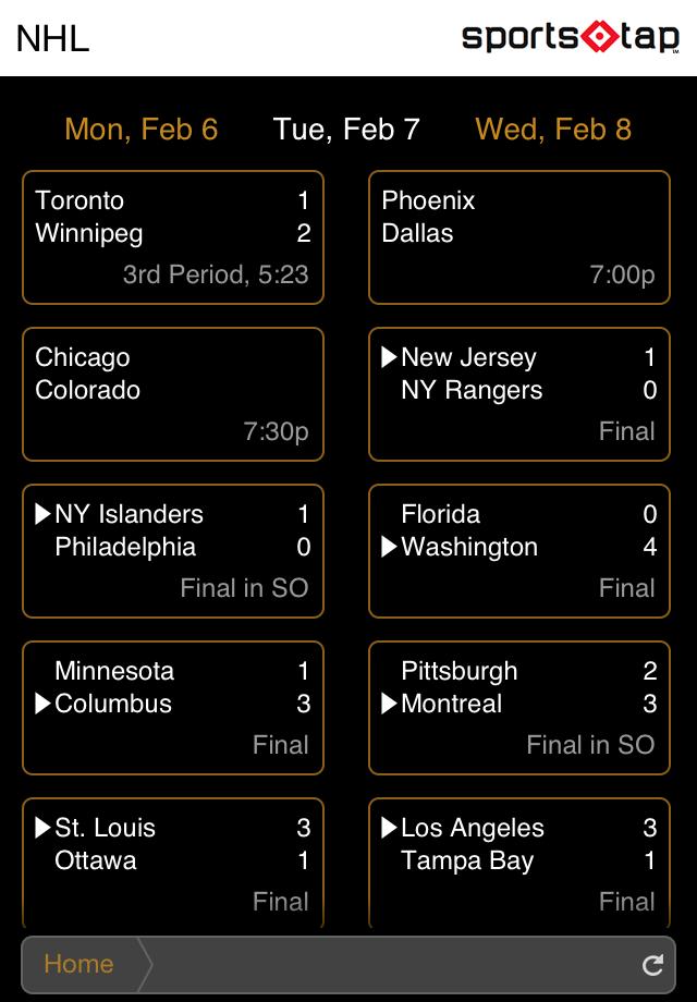 SportsTap screenshot 3