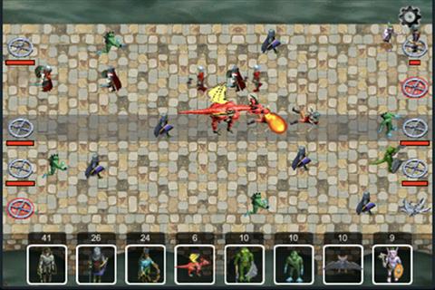 Zombies Vs. Vampires Lite Screenshot