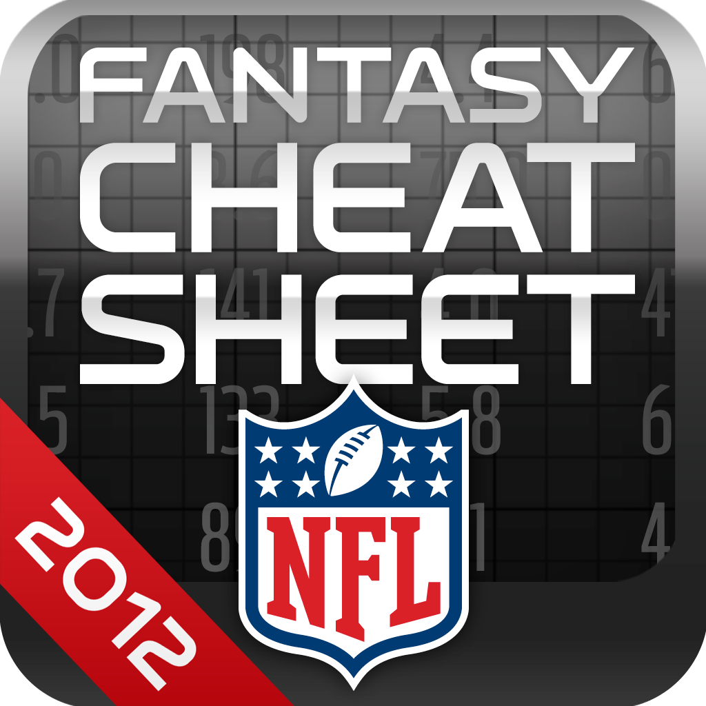 NFL Fantasy Football Cheat Sheet 2012 for iPad Review