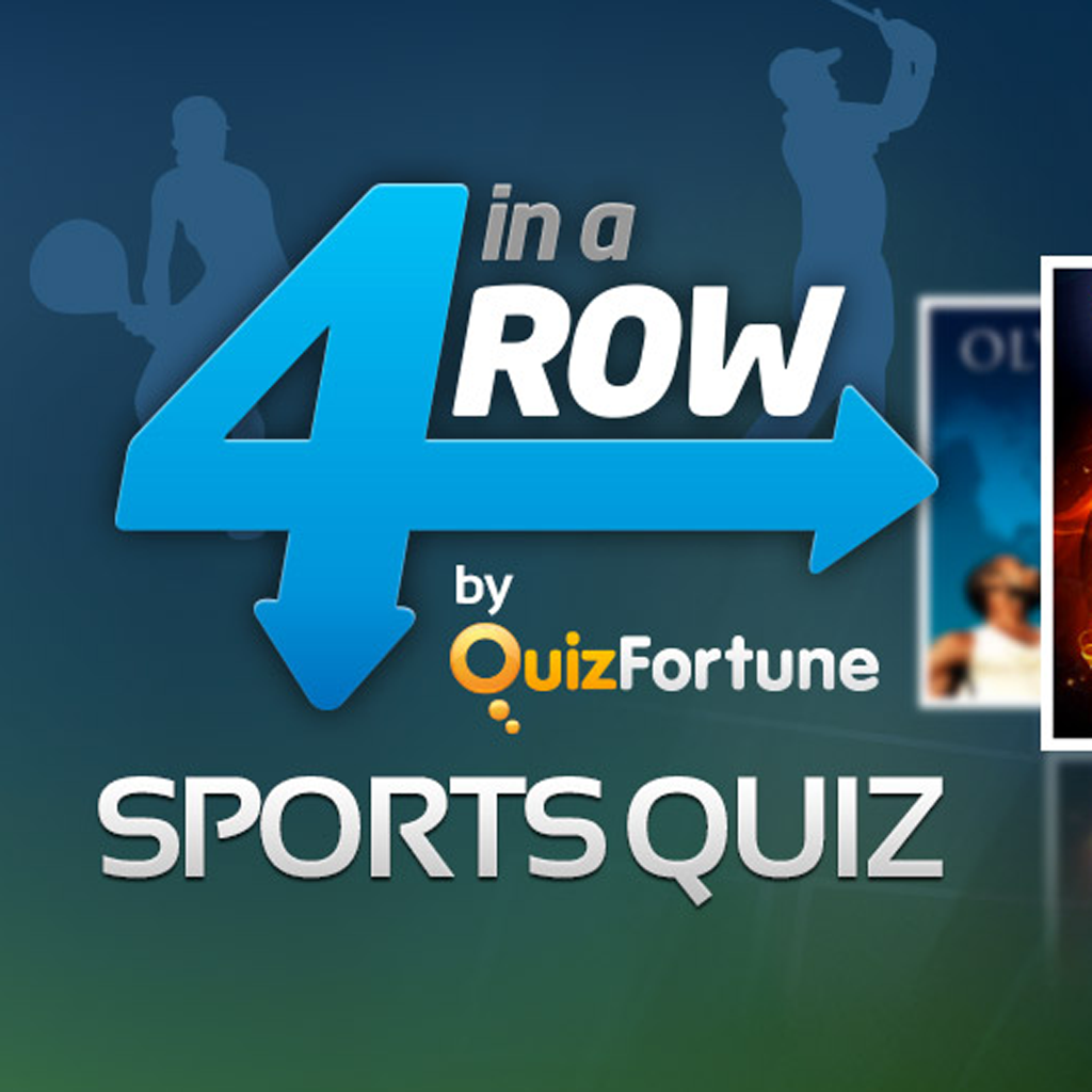 4 in a Row Sports Quiz by QuizFortune