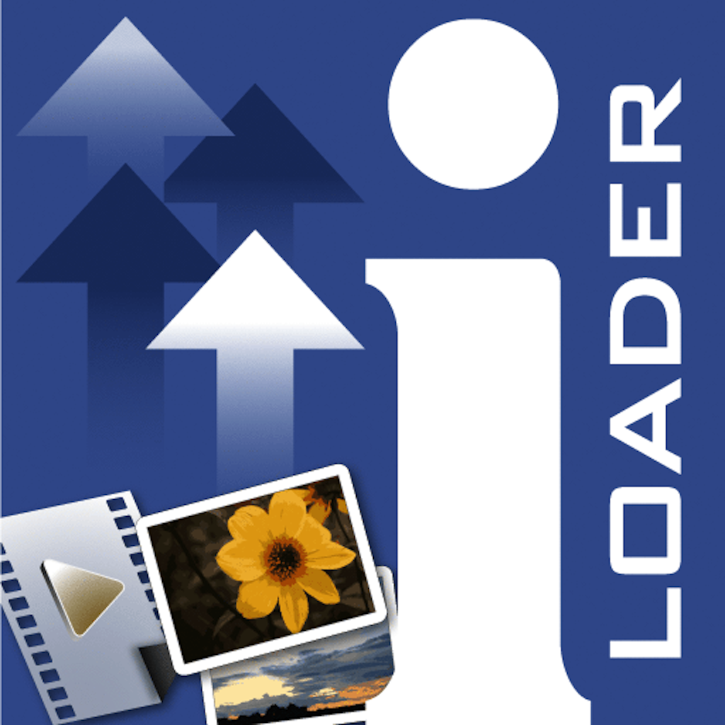 iLoader for Facebook - Photo Video Batch Uploader with Camera Effects and Filters