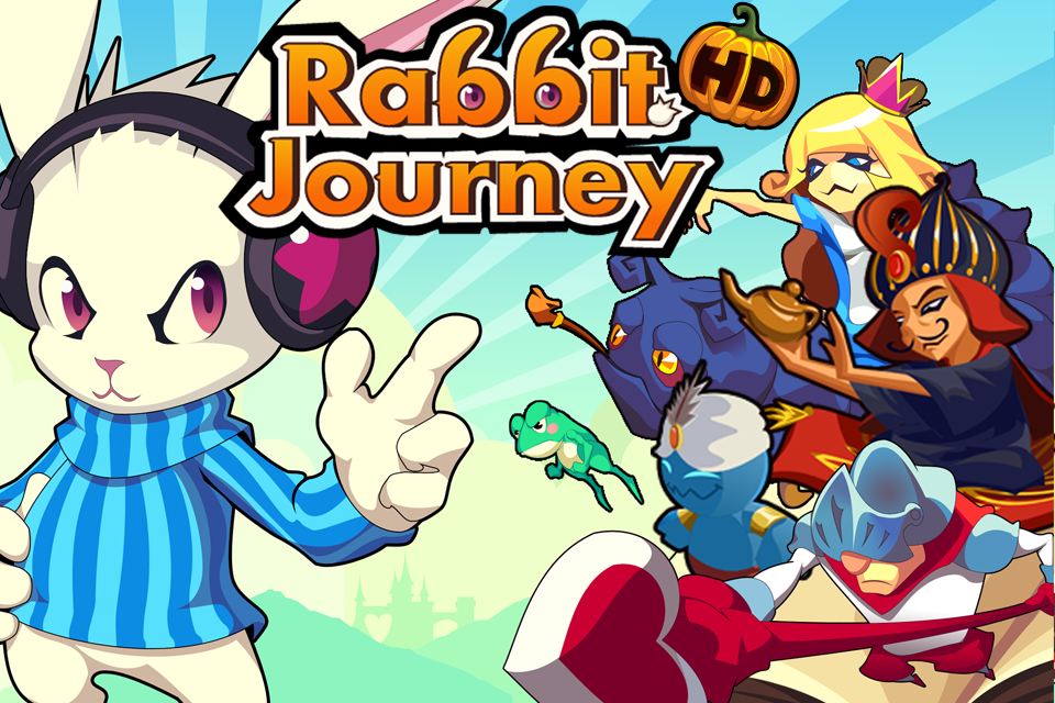 Rabbit Journey HD Screenshot