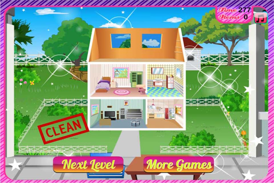 Cleaning Games, play them online for free on GamesXL.