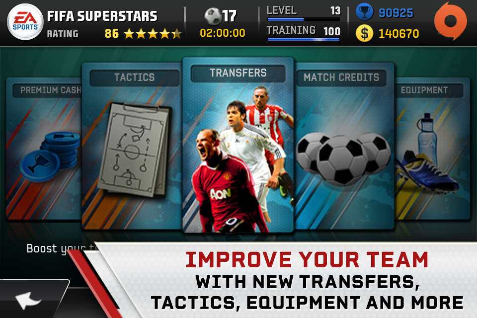 FIFA Superstars screenshot #2