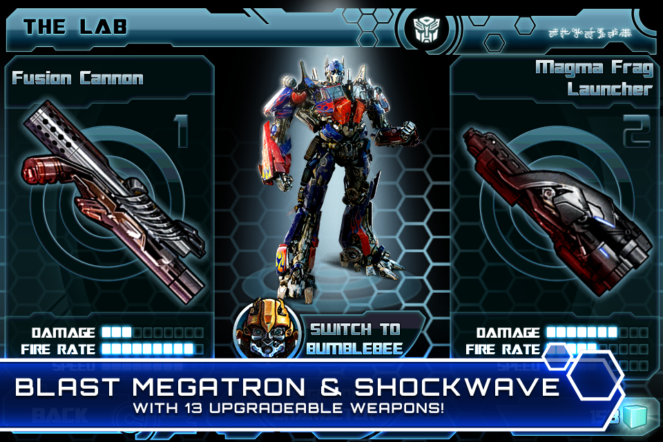 TRANSFORMERS: DARK OF THE MOON screenshot #3