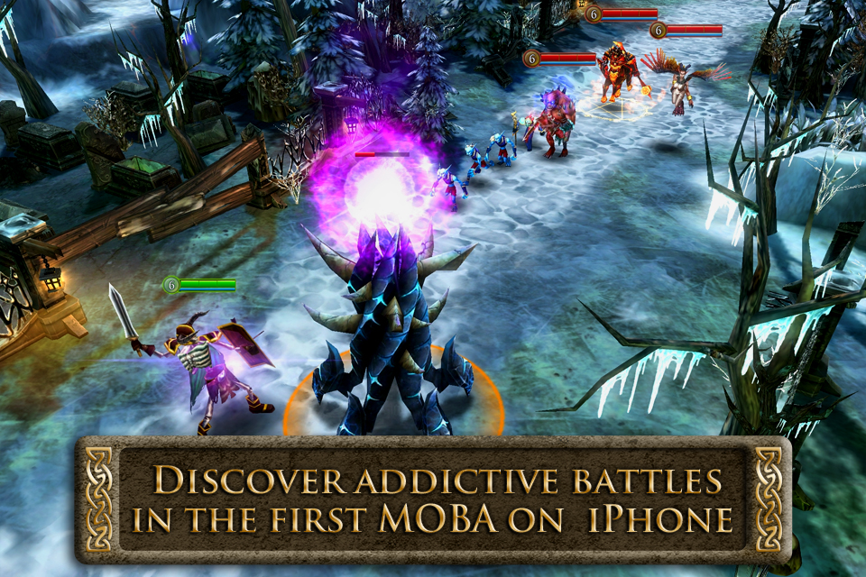 Starting - Heroes of Order & Chaos - Multiplayer Online Game