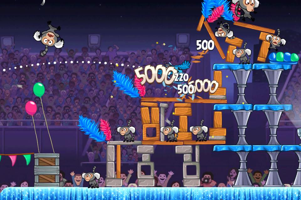 Angry Birds Rio Free screenshot #4