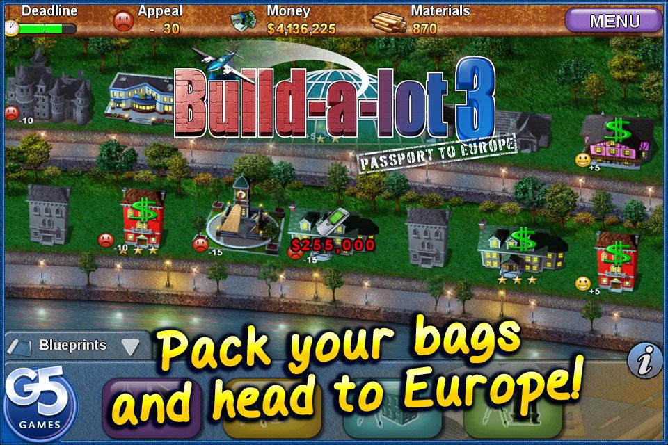 Build-a-lot 3: Passport to Europe screenshot #1