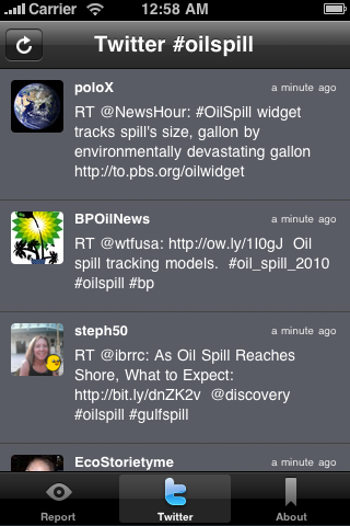 Oil Reporter screenshot 3