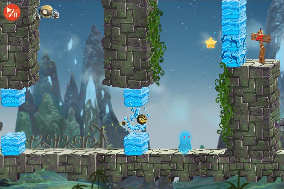 Golden Ninja HD screenshot 5