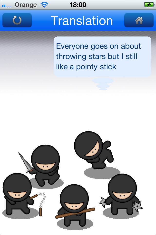 NinjaSpeak Screenshot