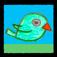 Petey Parrot Flies Outside Icon