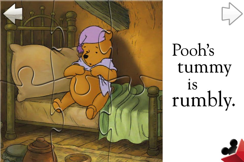 Winnie the Pooh Puzzle Book screenshot #2