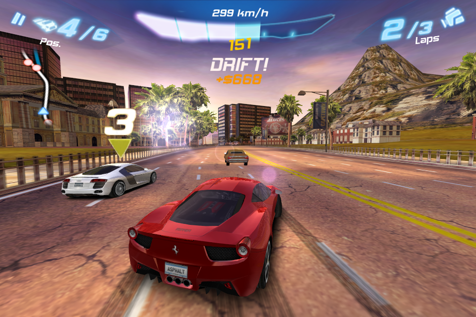 Asphalt 6: Adrenaline FREE screenshot 2