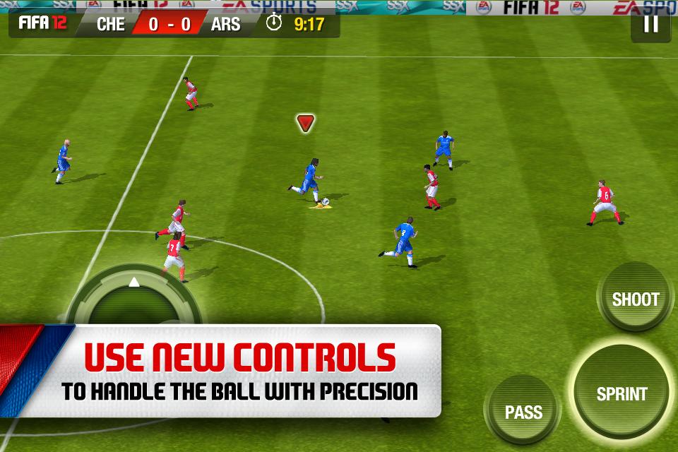 FIFA 12 by EA SPORTS screenshot #4