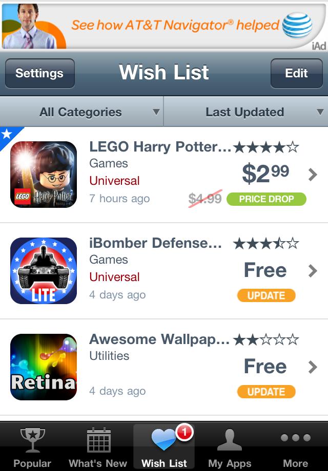 AppShopper screenshot #2