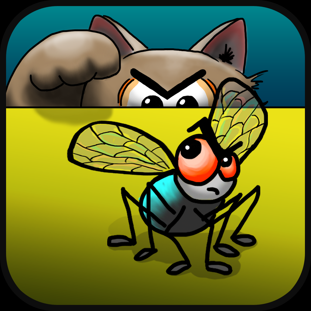 Catch the Fly Cat Game
