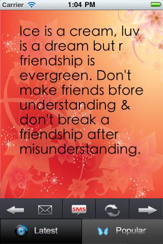 Friendship Quotes Plus Screenshot