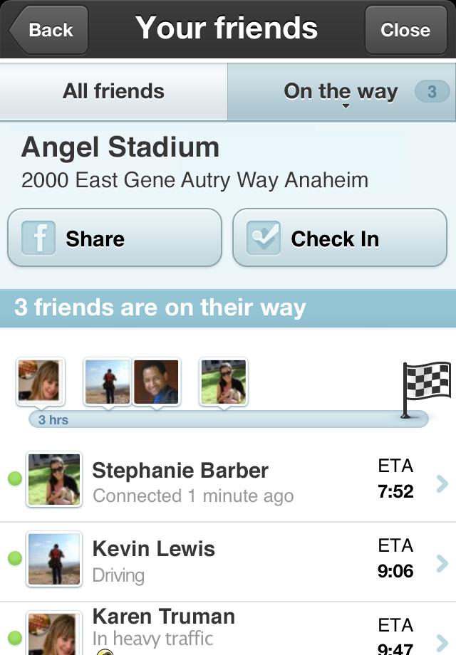 Waze social GPS traffic & gas Screenshot