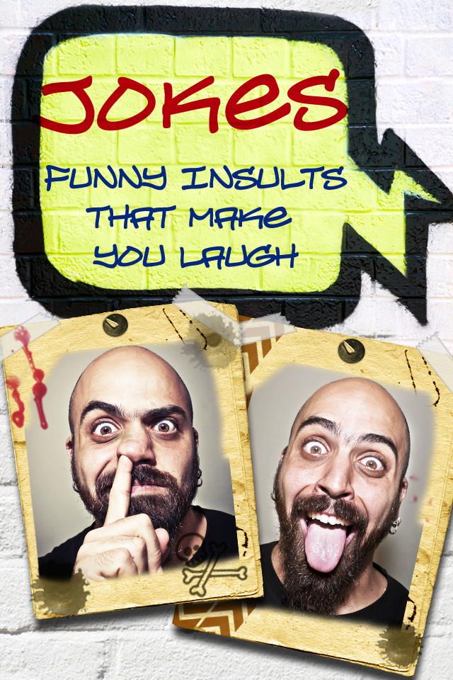Jokes - Funny insults that make you laugh | iPhone Books apps | by