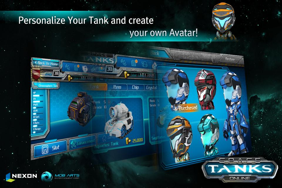 Space Tanks screenshot 4