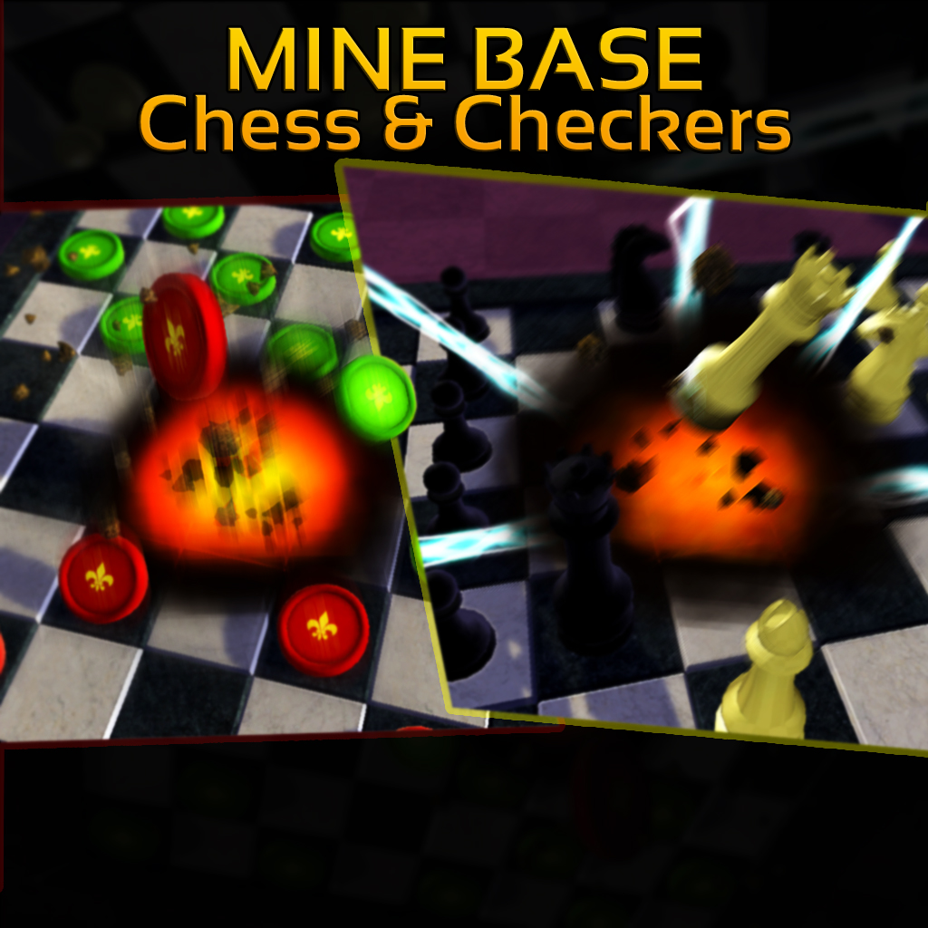 Mine Base Chess & Checkers
