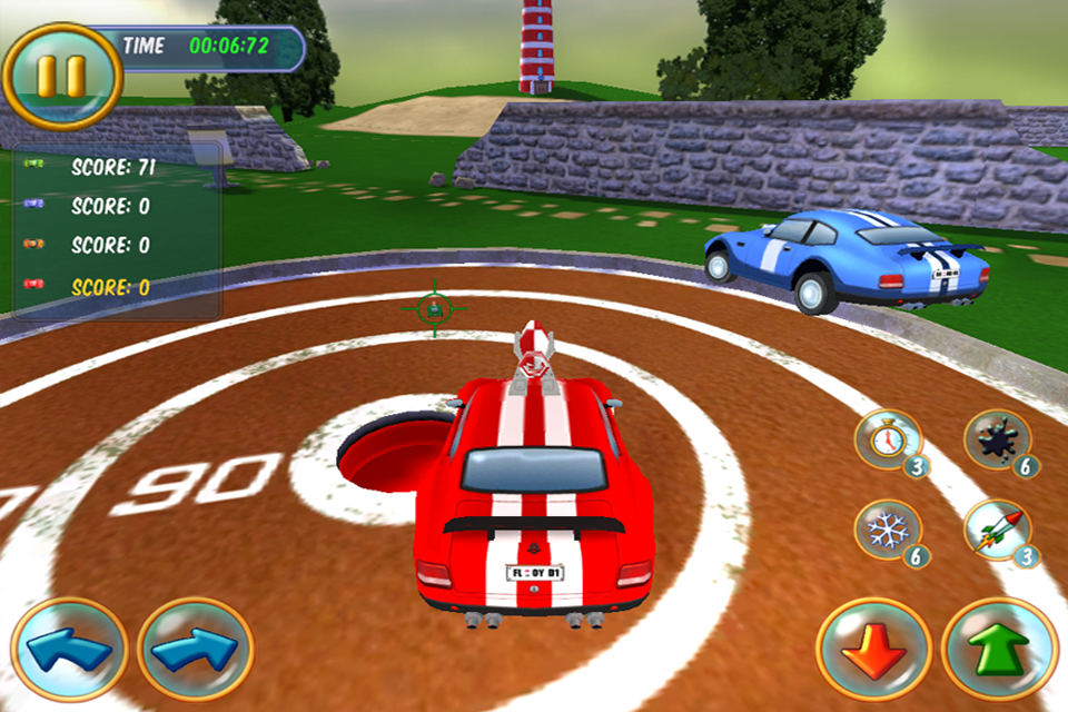 Mad Tracks screenshot #4