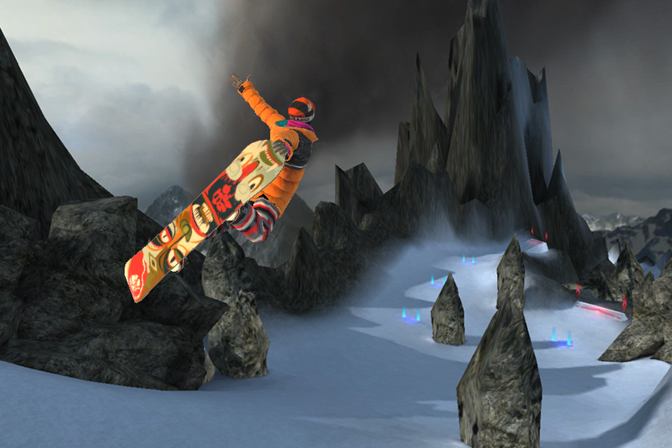 SummitX Snowboarding HD screenshot 1