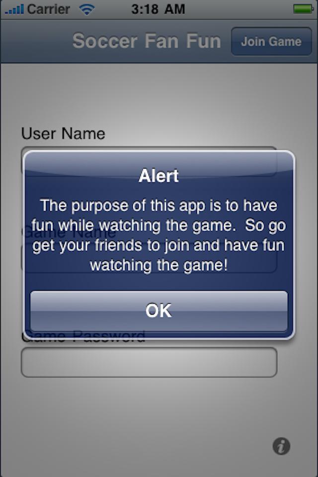 Soccer Fan Fun Screenshot