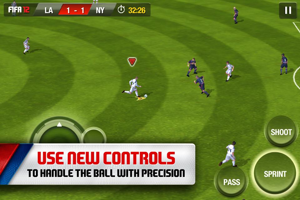 FIFA SOCCER 12 by EA SPORTS screenshot #4