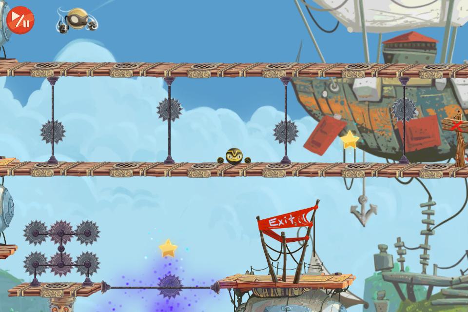 Golden Ninja HD screenshot 4
