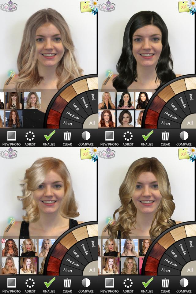 Strange Hairstyles App For Iphone Ipod And Ipad Short Hairstyles Gunalazisus
