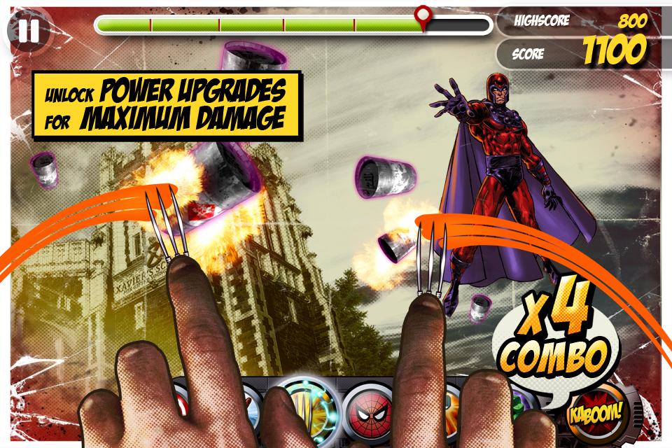 Marvel KAPOW! screenshot 2