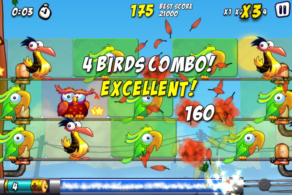 Bird Zapper! Lite screenshot #1
