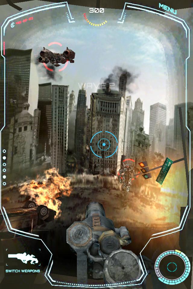 TRANSFORMERS 3: DEFEND THE EARTH screenshot #3
